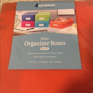 Other - Organizer boxes